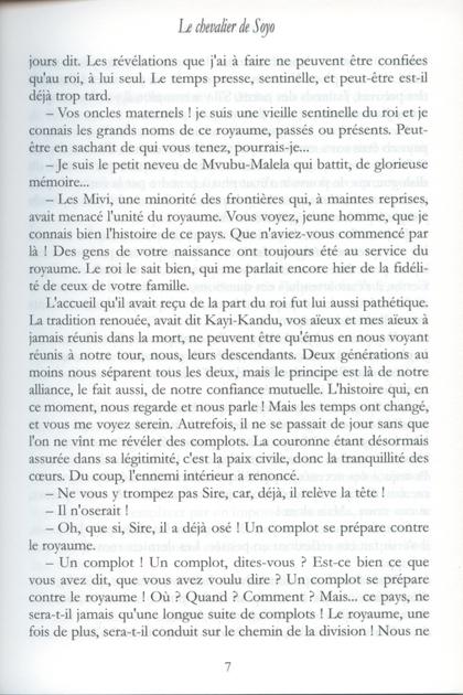 Le Chevalier de Soyo 4