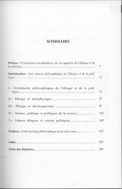 Ethique et politique 1