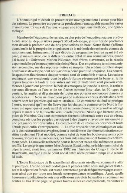 Introduction à l'Histoire des Migrations au Congo 1