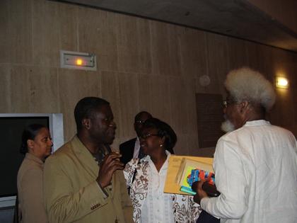Soyinka et Mawawa Kiese