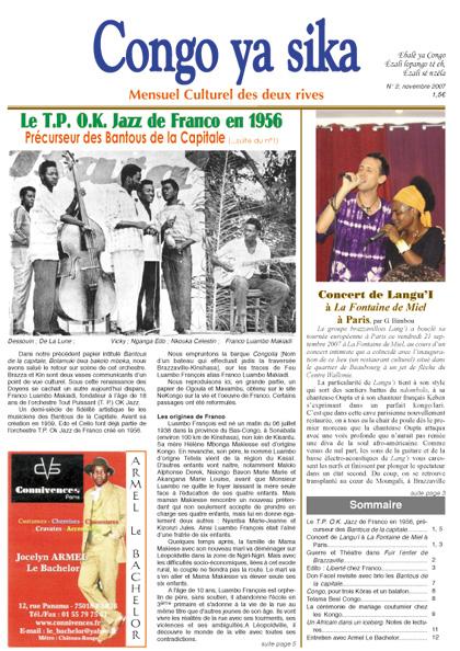 congo Ya Sika magazine