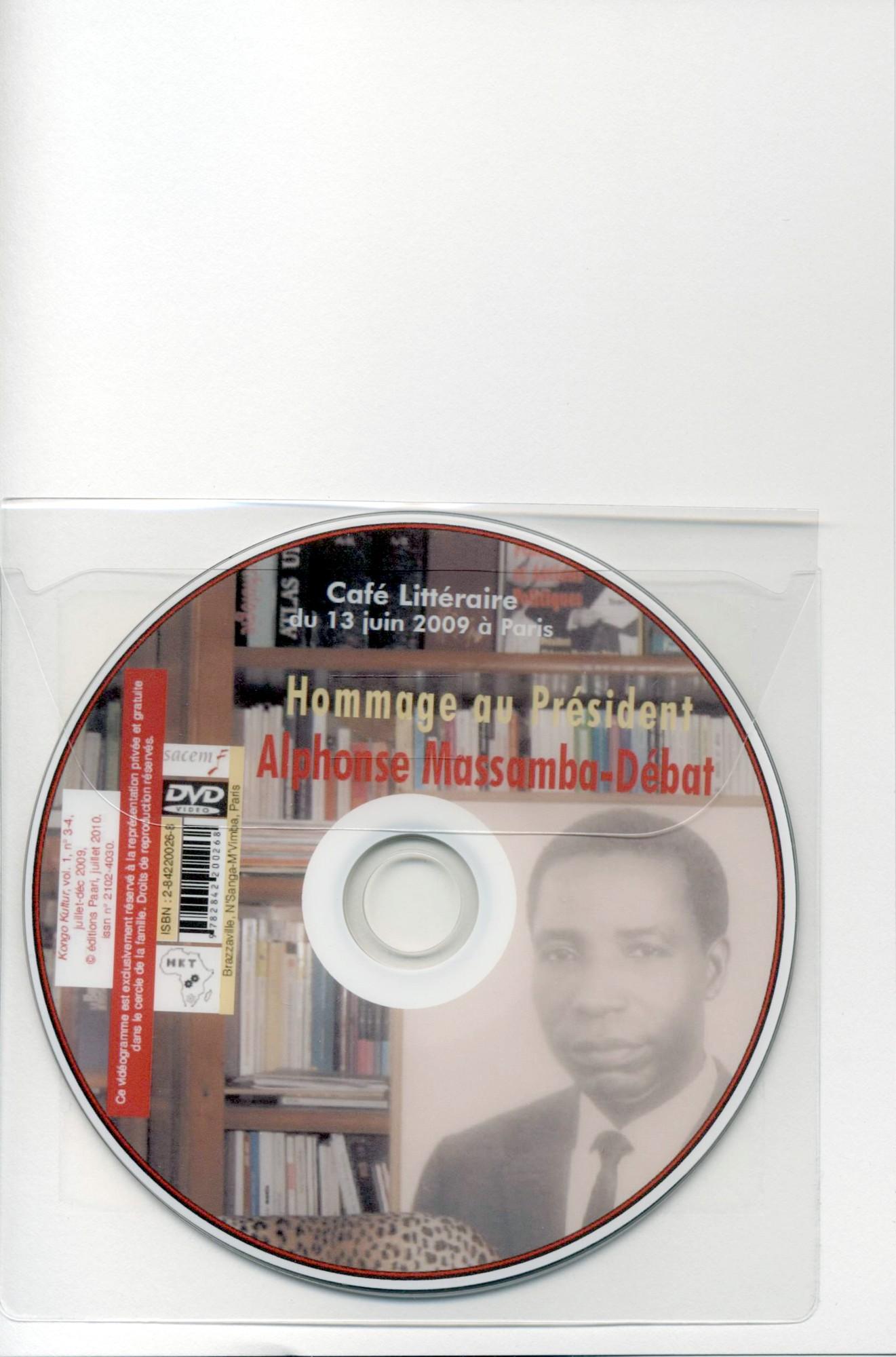 DVD collé en page 3 de couverture